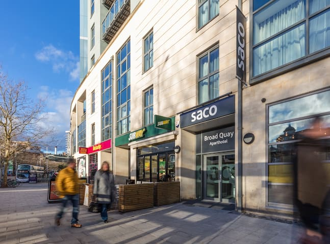 SACO Bristol Broad Quay Studio Apartment