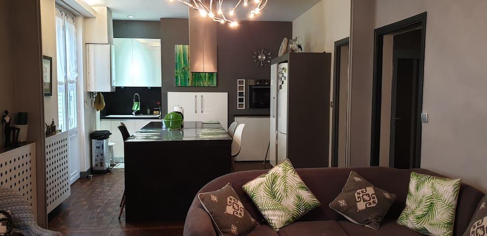 Appartement dans maison de ville