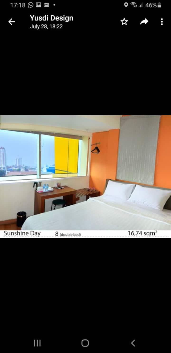2 Star Plus Hotel Room