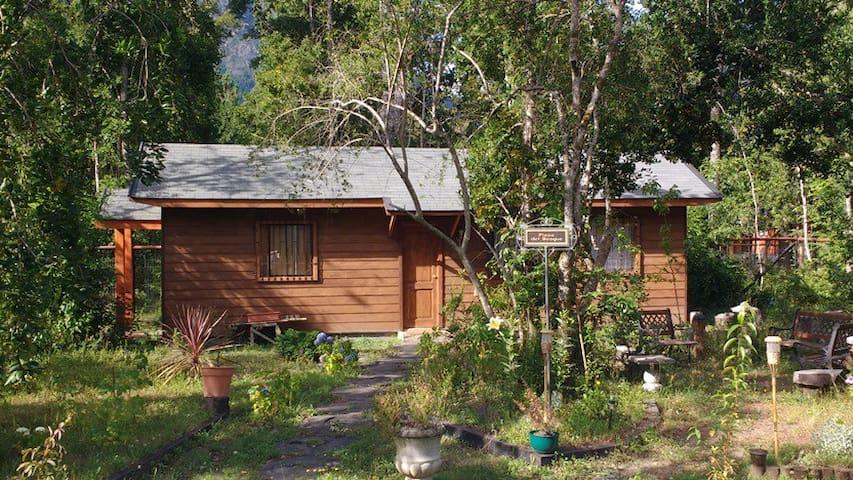 Acogedora cabaña en Pucón en propiedad privada.