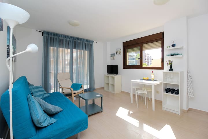 Brand new apartment - 100 meters from the beach