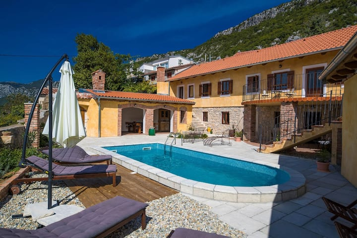 Three Bedroom House, in Grižane, Outdoor pool