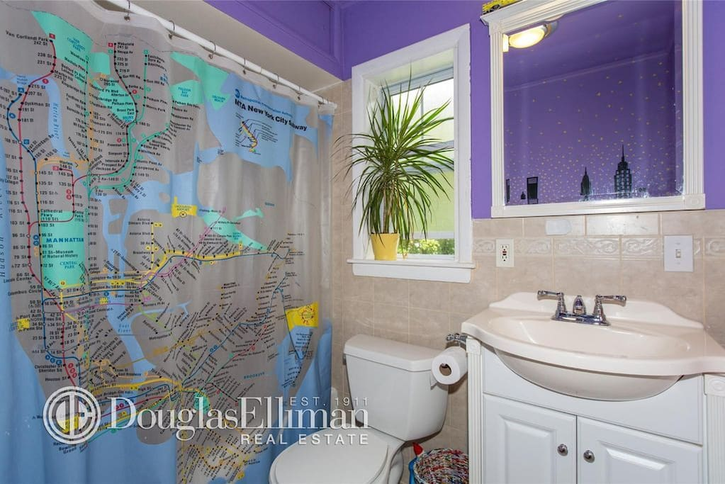 Second Floor Bathroom with Shower