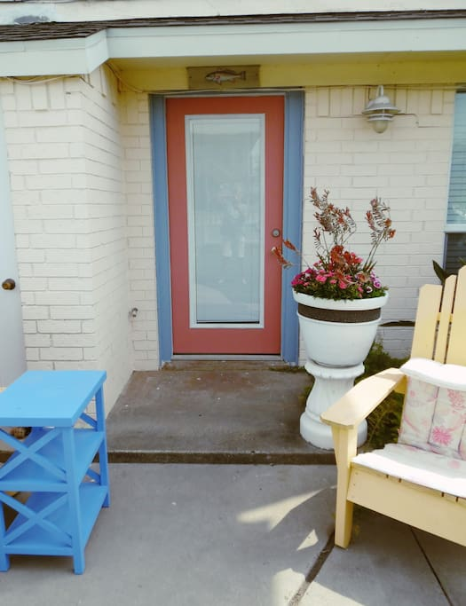 Front yard entry