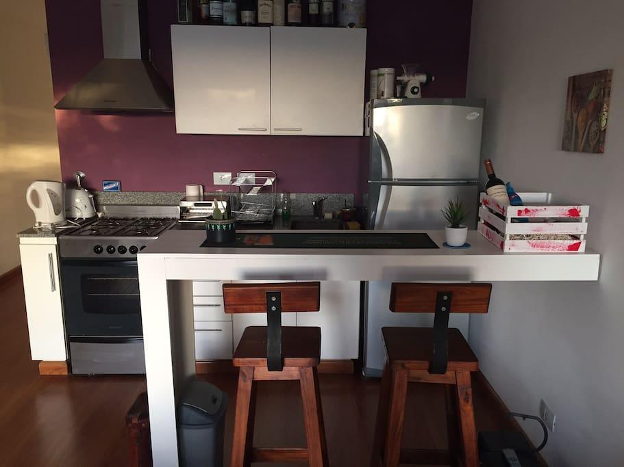 Barra desayunador - Cocina