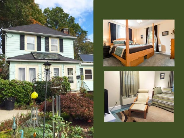Charming 3 rm suite close to Boston(Melrose)/Train - Melrose - Hus