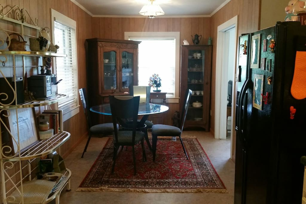 View of dining from kitchen