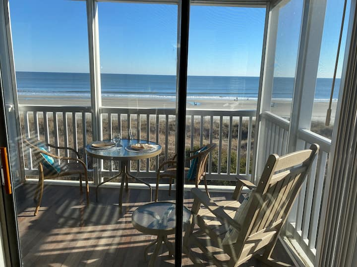 Direct Oceanfront..Private Beach Access...Pool!