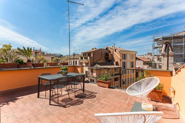 Baullari Terrace | In Campo de' Fiori