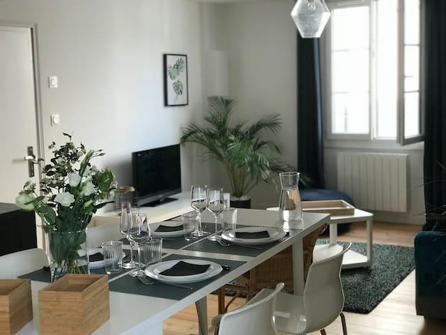 Appartement au coeur du quartier historique