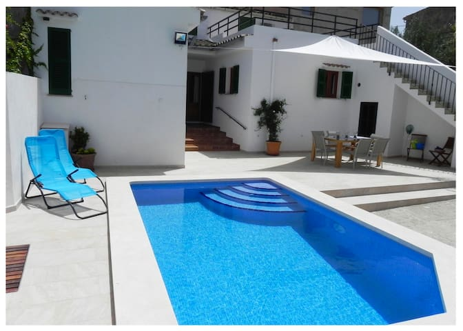 Private pool, BBQ, amazing views - Maria de la Salut - Ev
