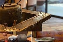 我们民宿走路两分钟,特别多日式吃喝玩乐。日式茶点打卡处——京都【椿堂茶谱/竹声】日本茶