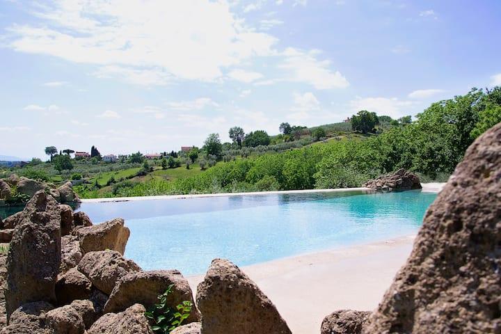 Podere Moronte, Luxury Villa in Sabina (Roma)