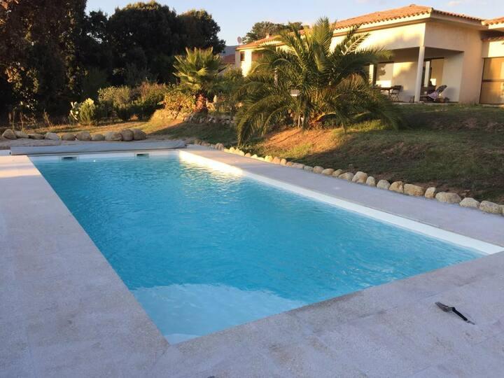 Superbe Maison avec piscine, Cauro village