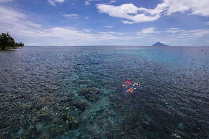 Stay and Snorkel with Murex Dive Resort, Manado