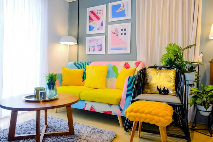 Stylish 2BR at Pakubuwono Terrace Apartment