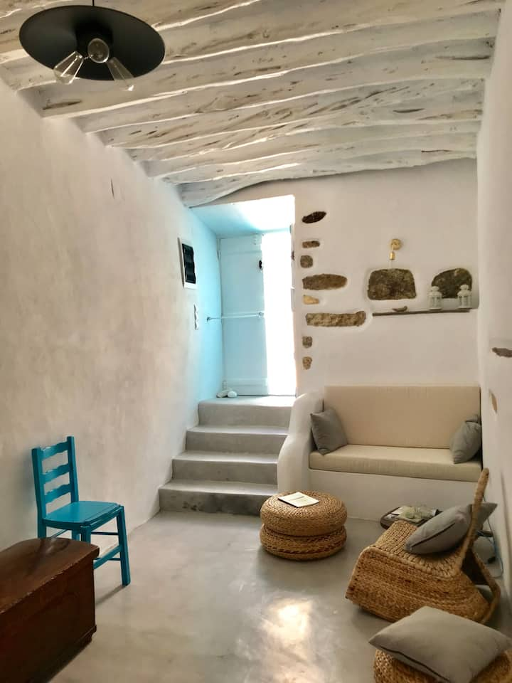 Historic 14th century Sifnian House with Sea Views