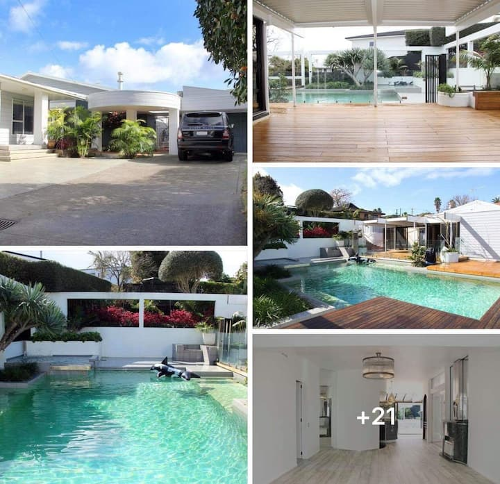 Stylish, Sunny & Central - (Poolside & Beachside)!
