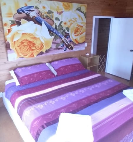 Main Bedroom King size Bed