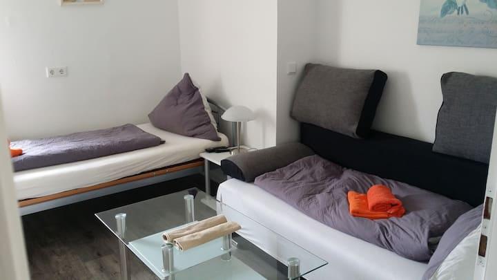 Zweibett- oder Einzelzimmer Fulda ruhig  citynah