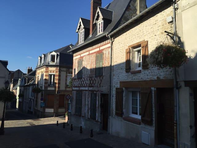Fisherman house - Villerville - Rumah