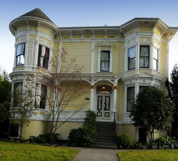 Enjoy this historical Napa home built in 1879.