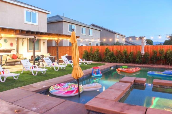 Gorgeous House w/ New Pool & Spa! Coachella Events