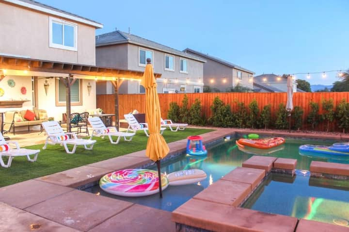 Gorgeous House w/ New Pool & Spa! Coachella Events