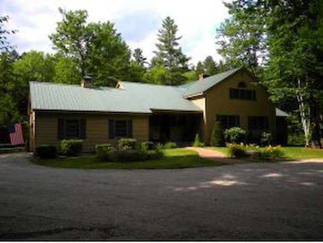 Private home on East Branch River, Bartlett, NH - Bartlett - Ev
