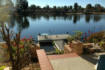 Welcome to the Lake! (2 rms/3 beds) - Moreno Valley