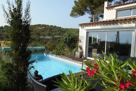 Jolie maison avec piscine entre Marseille et Aix - Septèmes-les-Vallons - บ้าน