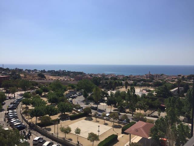 Habitación con vistas al mar !! - El masnou Barcelona  - Apartment