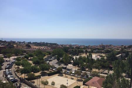 Habitación con vistas al mar !! - El masnou Barcelona  - Pis