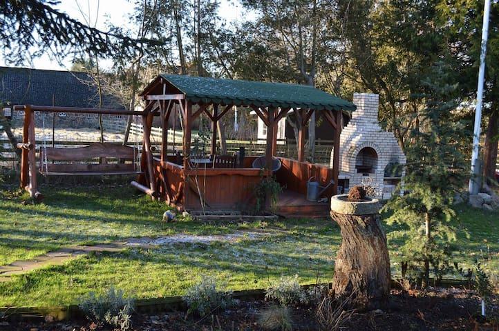 Cozy summerhouse with a beautiful garden