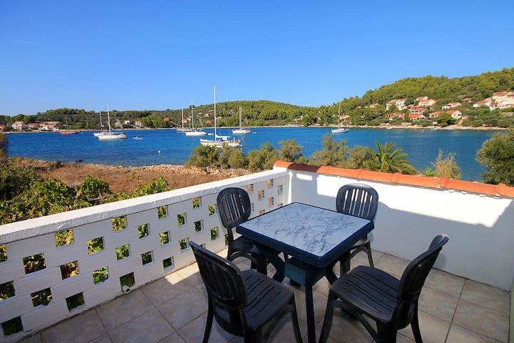 Three bedroom house near beach Cove Gradina, Korčula (K-4457)