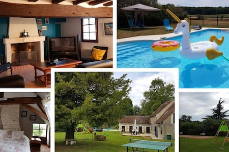 Domaine des Pacauderies -Gîte 3* Piscine Privative