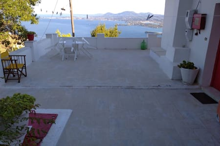 Aphrodite's cottage on Corfu island