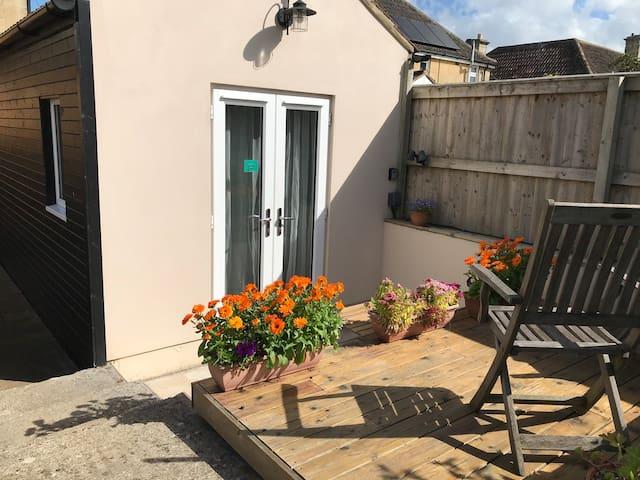 Garden studio in picturesque town