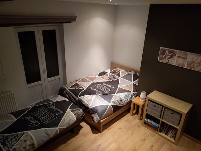 Bedroom 1 ; 2 beds