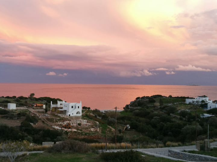 Cozy & private panoramic seaview retreat - Naxos!