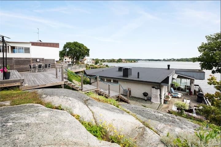 Egen villa på Hästö, 20 meter ifrån havet