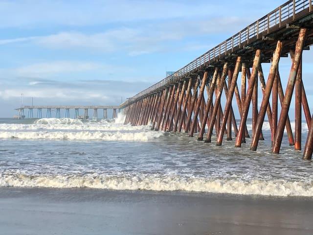 Ocean front condo in Rosarito Beach