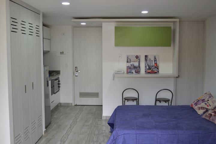 Moderno ApartaEstudio Ibagué, Turismo o Negocios