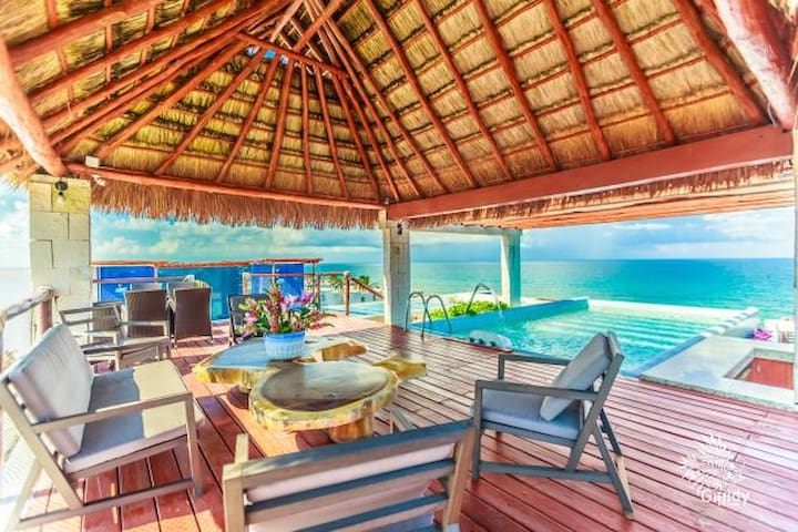 Condo 4 pax Ocean view at Isla Mujeres MX