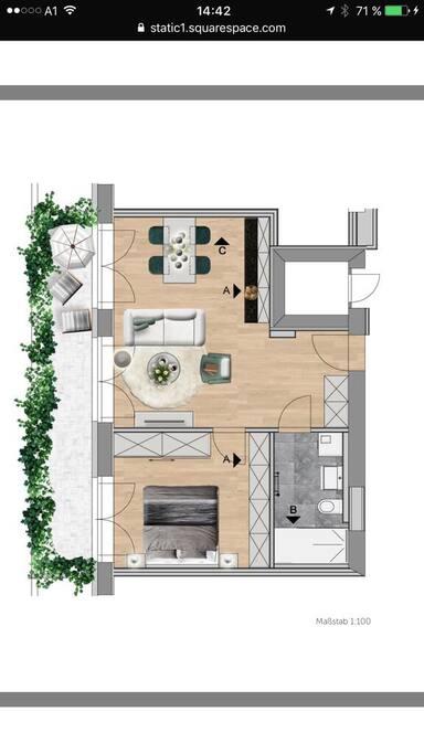 Wohnung Auerhahn