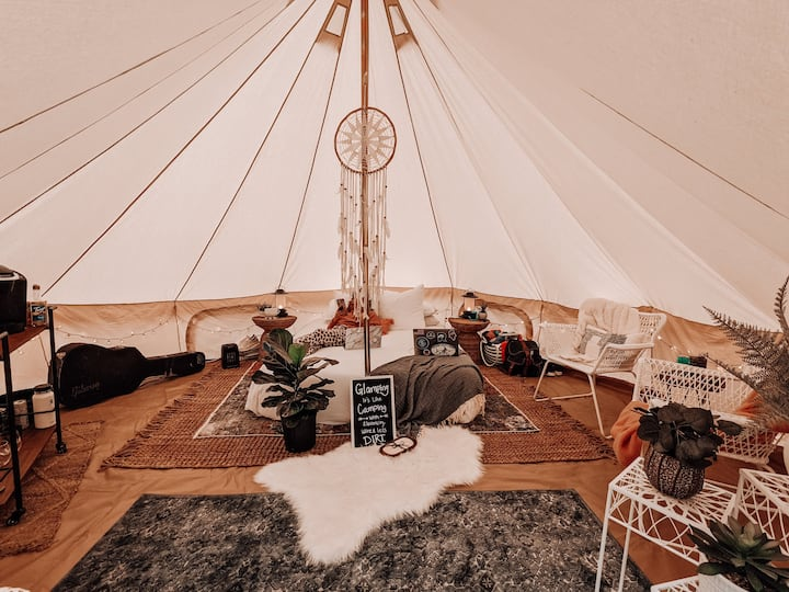 "Boho Tent on the Lake ""Serenity"""