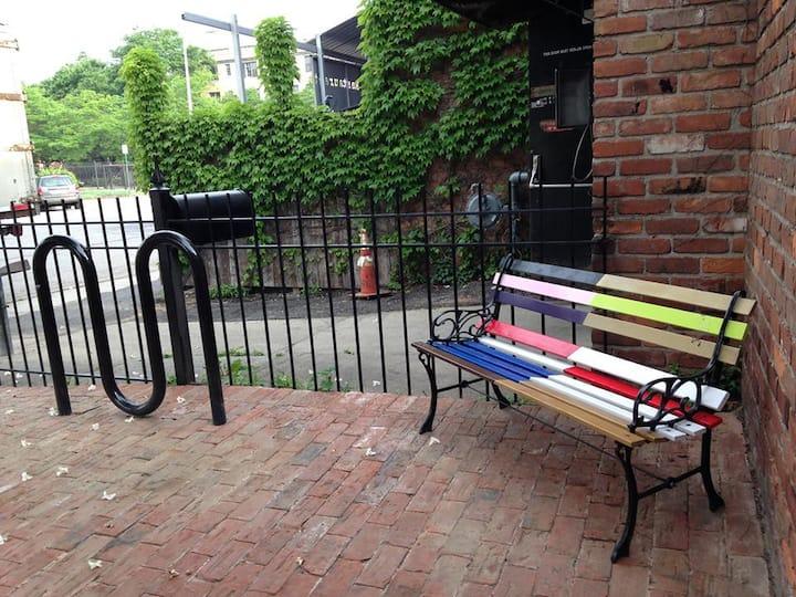 Intimate Midtown Detroit Garden Cove Studio