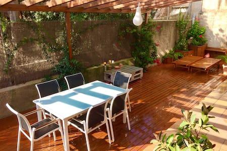 Apartamento grande & soleado frente a la playa - Montgat - 公寓