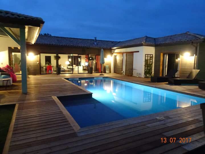 Villa de charme au calme pour 10 personnes