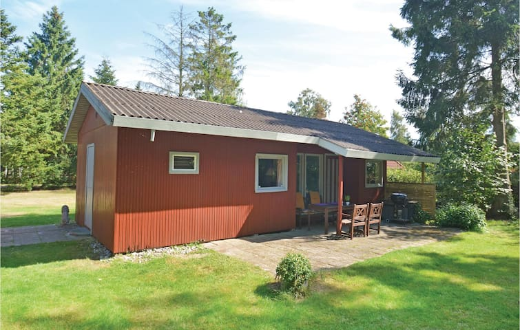 Holiday cottage with 2 bedrooms on 43m² in Idestrup